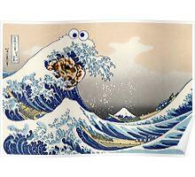 The Great Cookies off Kanagawa Poster