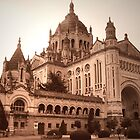 The Basilica of St. Thérèse of Lisieux by triciamary