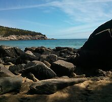 Acadia National Park Sand Beach by zylime