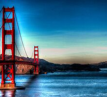 Golden Gate Bridge by ScarySpirits