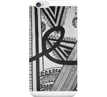 lines iPhone Case/Skin