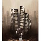 City Rain by goldenapple
