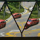 Reflecting the Traffic by Werner Padarin