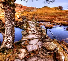 Slaters Bridge by English Landscape Prints