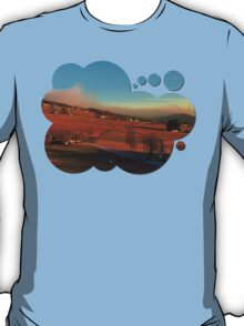 Clouds over the mountains II | landscape photography T-Shirt
