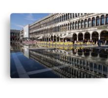 Venice, Italy - St Mark's Square Symmetry Canvas Print