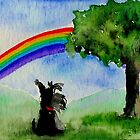 Scottie Dog 'Rainbow' by archyscottie