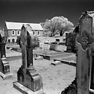 Graveyard, St Thomas Church, Moonbah by Syd Winer