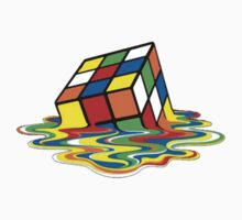 Melted Rubik's cube by Nintendo64