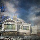 Loomis Sanitarium Library by PineSinger
