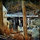 Kenoza Lake Dam by PineSinger