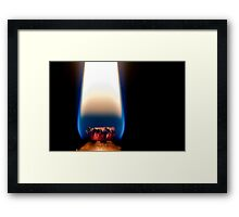 Prometheus gift fire to man Framed Print