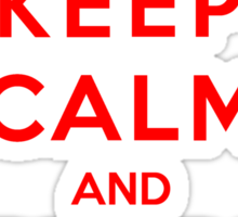 Keep Calm And Be My Valentine Sticker