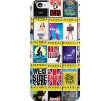 Broadway Playbill Palooza iPhone Case/Skin