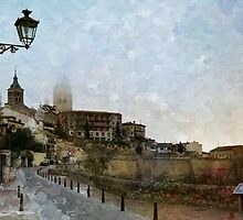 Painting Segovia by rentedochan