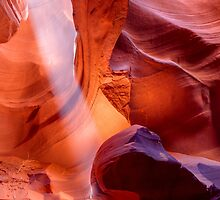 Upper Antelope Canyon Magic by Gregory Ballos | gregoryballosphoto.com
