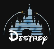 Disney Destroy Black by Daniel Szabo