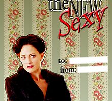 Irene Adler Valentine's Day Card - The New Sexy by thescudders