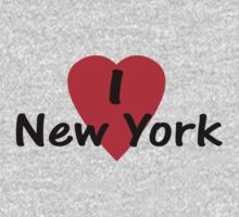 I Love New York - USA T-Shirt & Sticker by deanworld