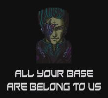 AYBABTU ~ All Your Base Are Belong To Us ~ t shirt by deanworld