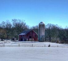 Farm In Winter by James Brotherton