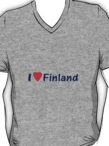 Suomi T-Paidat / T-Paitoja Vaatteista ~ I Love Finland T-Shirt and Top T-Shirt
