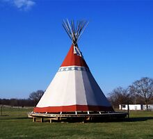 Teepee by James Brotherton
