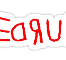 The Shining REDRUM Sticker