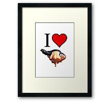 I <3 Skywhale Framed Print