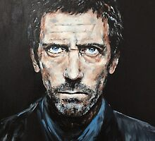 Hugh Laurie by weiwei