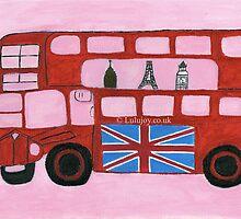 London Paris New York Bus by lulujoy