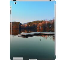 Romantic evening at the lake III   waterscape photography iPad Case/Skin