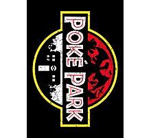 Poke Park Distressed Photographic Print
