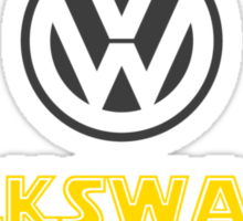 VW Wars Sticker