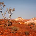 The Breakaways - Coober Pedy  by Hans Kawitzki
