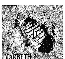 Macbeth footwear moon footprint by Jonrabbit