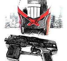 TOOLS OF THE TRADE - CITY OF DREDD by strangelysaucy