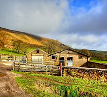 Pendle Hill by English Landscape Prints