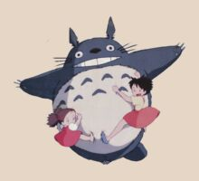 Totoro Mei and sister by Attare