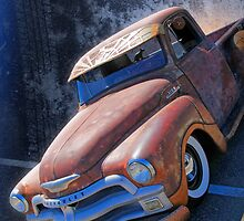Rat Rod Chevy by flyrod