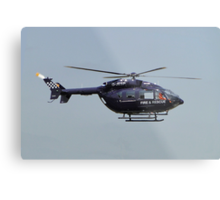 Fire And Rescue From The Skies Metal Print