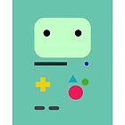 BMO - Adventure Time  by chillauren
