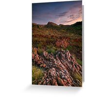 Sunrise After the Rains Greeting Card