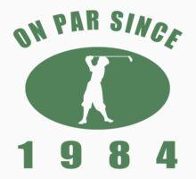 1984 Golf Humor T-Shirt by thepixelgarden