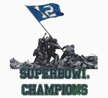 Seahawks 12th Man Superbowl Champions by TAllan15