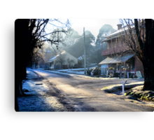 Clark Street Hill End NSW Australia Canvas Print