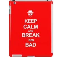 Break 'em Bad iPad Case/Skin