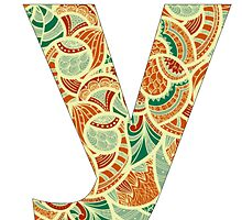 Letter Series - y by jacqs