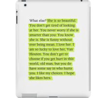 The Fault in Our Stars Green Passage iPad Case/Skin