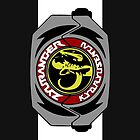 Black Zyuranger Dino Buckler by Designsbytopher